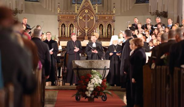 Ecumenical service in Riga Cathedral. © Kaspars Upitis, 2015