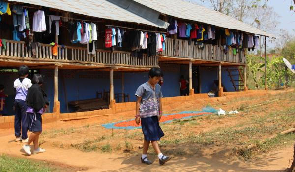Dormitory at Thoomykey School in Karen State near the border between Thailand and Myanmar