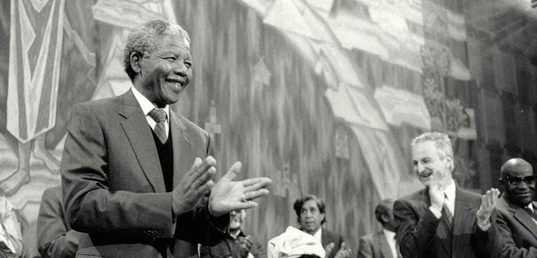 Mandela at the Ecumenical Center