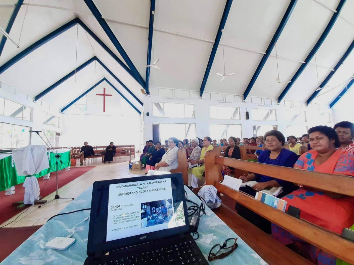 Gender equality theology workshop in Fiji, Photo: Mereani Elizabeth