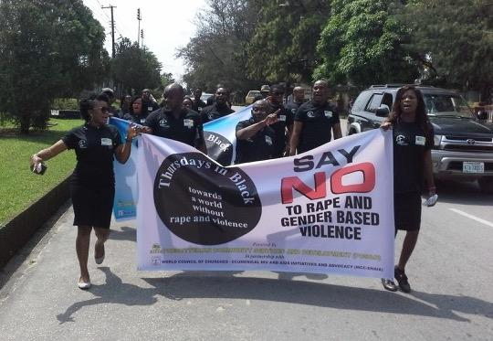 """The need for Thursdays in Black is highly evident in many communities."" Photo: courtesy of Rev. Anaga, Iyk"