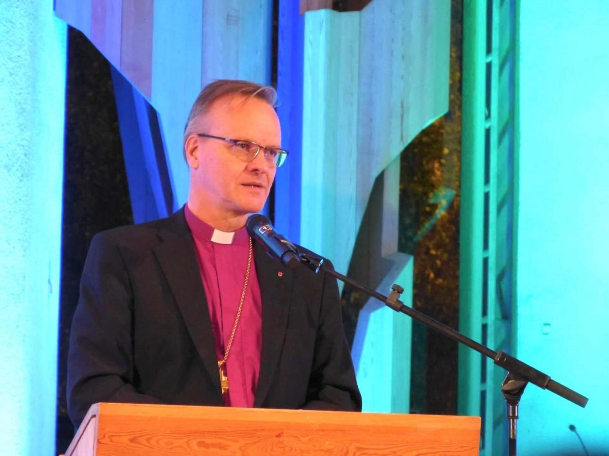 The Lutheran Archbishop of Finland, Dr Tapio Luoma, Photo: WCC