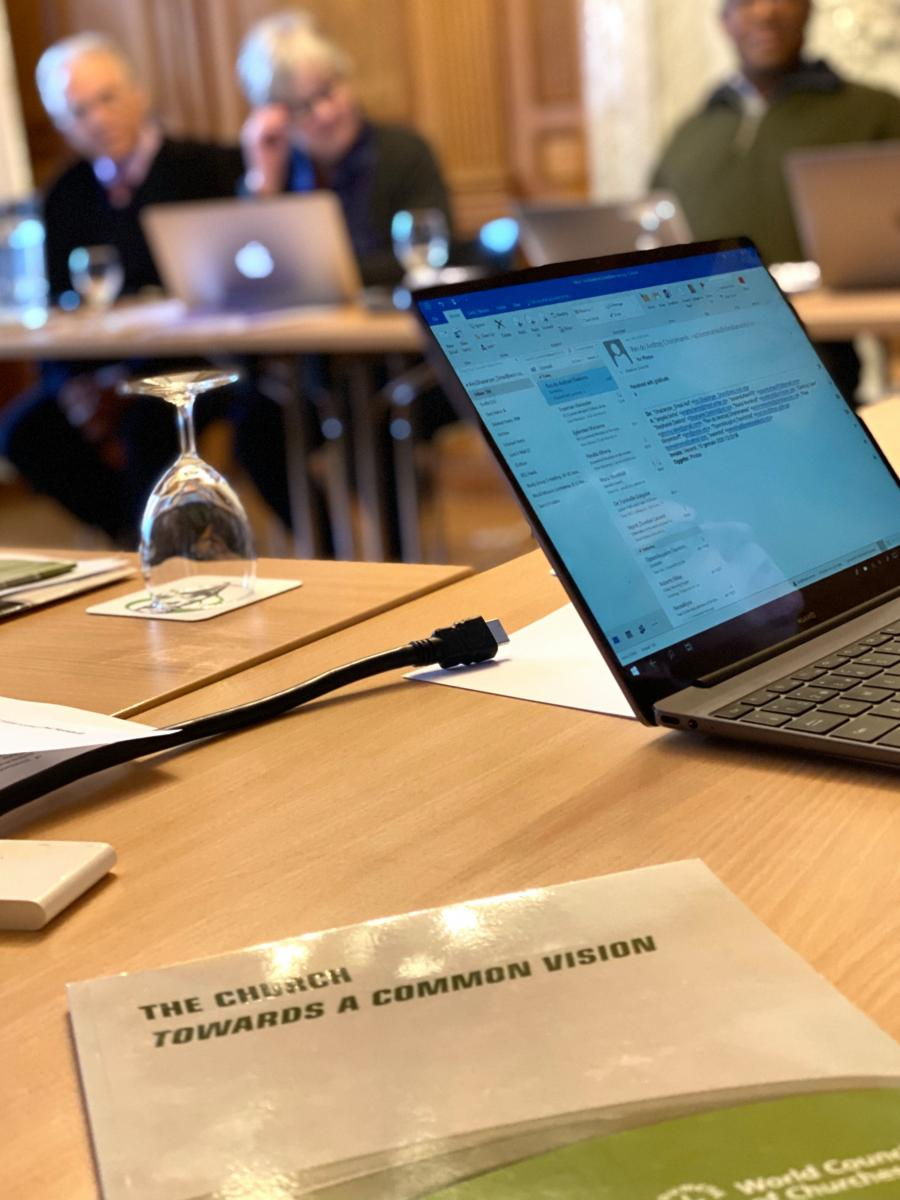 WCC Faith and Order study group meeting in Bossey, Switzerland, January 2020, Photo: WCC