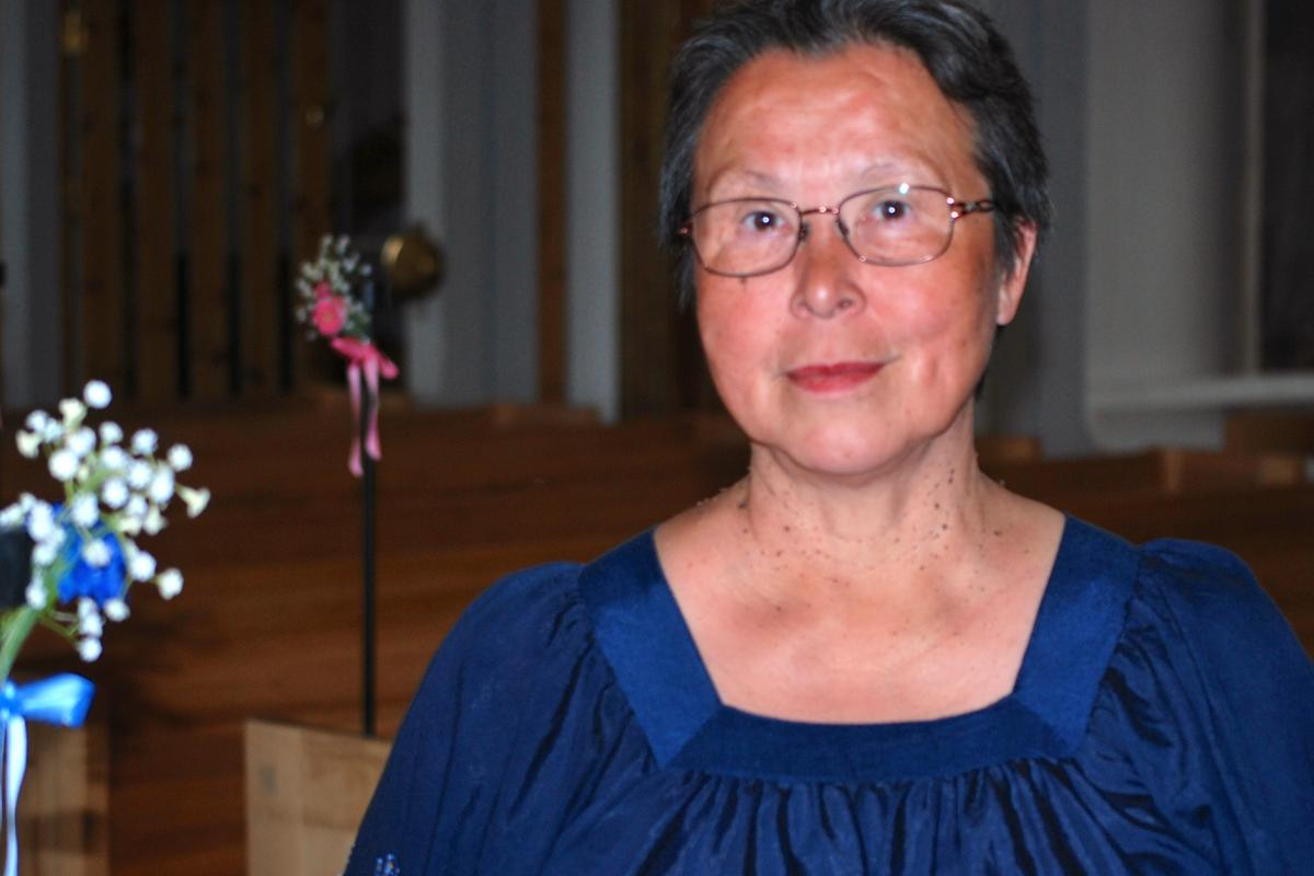 Rev. Emilie Steenholdt, vicar in Nuuk Parish. Photo: Claus Grue/WCC.