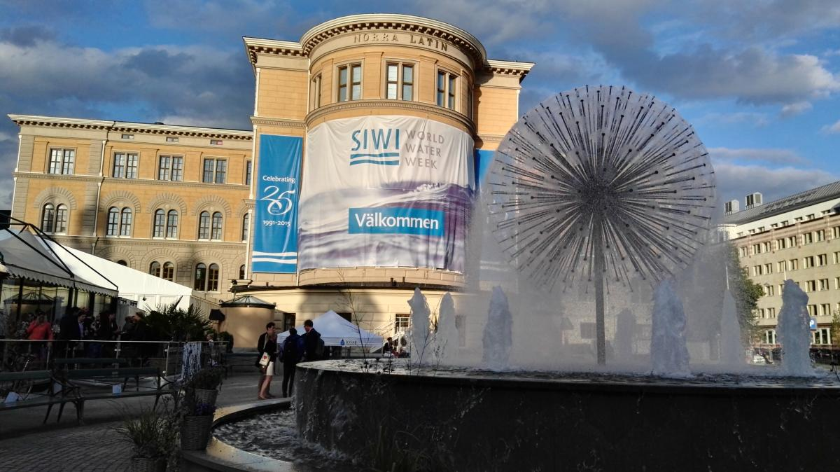 The Stockholm City Conference Center, venue for the 2015 World Water Week.