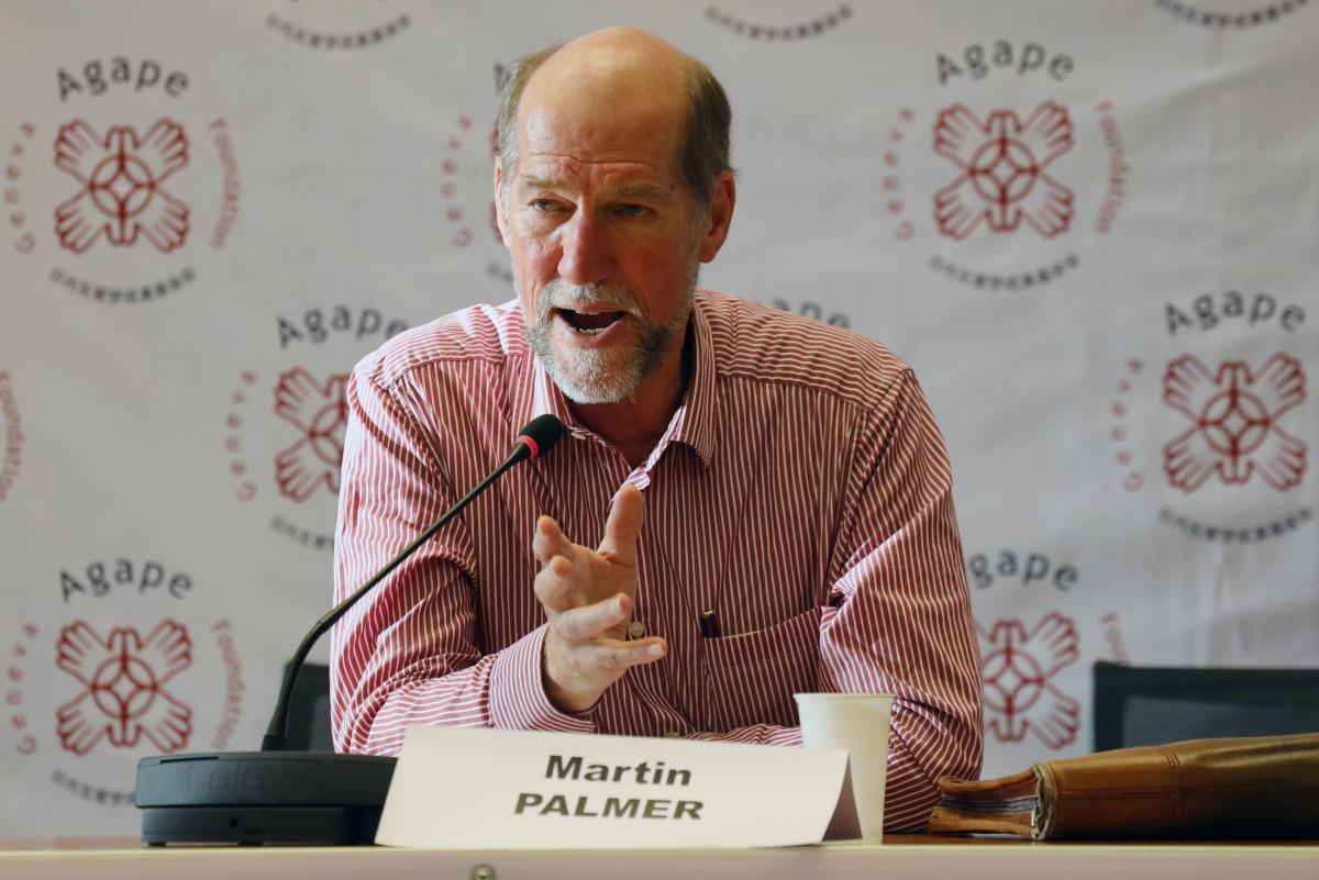 Martin Palmer, president of FaithInvest network from the United Kingdom. Photo: Peter Kenny/GAF/WCC