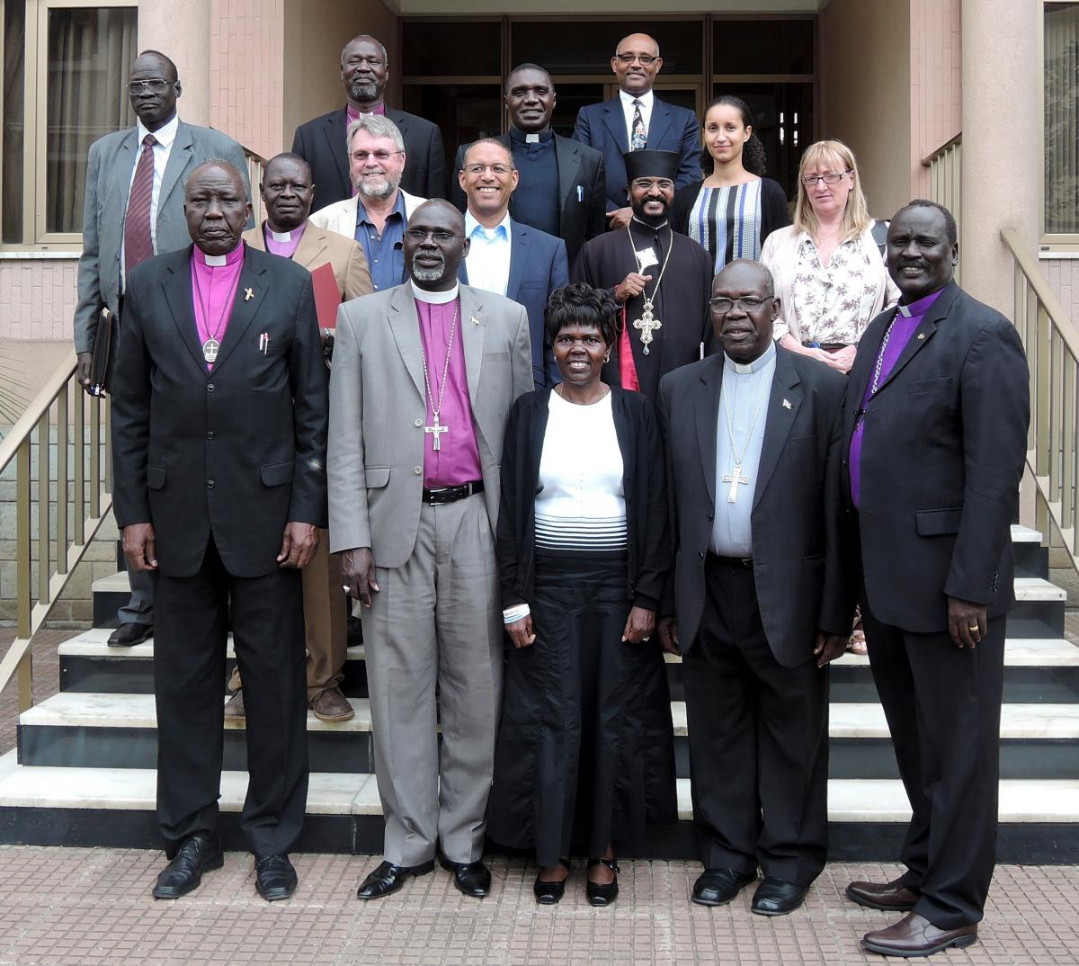 Peace consultation with the South Sudan Council of Churches and the WCC, 14-15 April 2015.