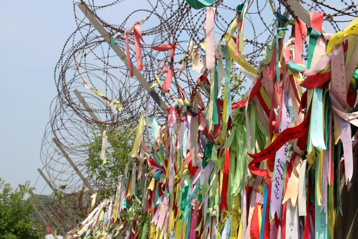 Demilitarized zone between the two Koreas. Photo: Grégoire de Fombelle/WCC