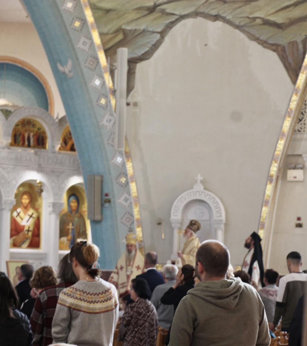 The Resurrection of Christ Orthodox Cathedral, Tirana, Albania, Photo: Xanthi Morfi/WCC