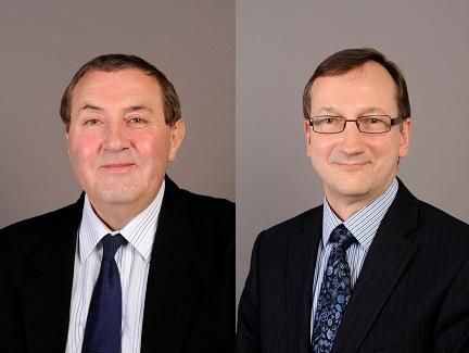 Ioan Sauca (left) and Peter Prove (right) are taking up new responsibilities in the WCC.