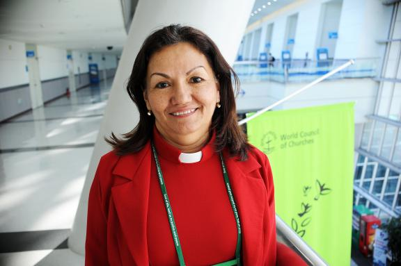 Rev. Gloria Nohemy Ulloa Alvarad, WCC president for the Caribbean/Latin America.