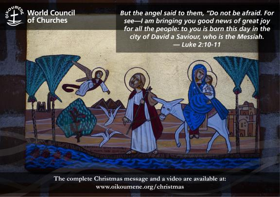 WCC Christmas card for social sharing, 2020