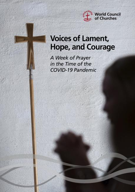 "Cover of the WCC publication ""Voices of Lament, Hope and Courage"""