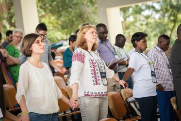Opening celebration of the WCC's Global Ecumenical Theological Institute in Arusha, Tanzania