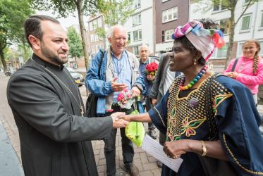 "A ""Walk of Peace"" on 23 August 2018 in Amsterdam gathered hundreds of young people and religious leaders who, as they strolled together, celebrated the ecumenical movement and challenged each other to accomplish even more."