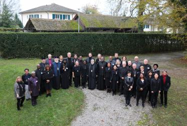 WCC Executive Committee Thursdays in Black group photo