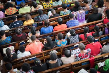 Arusha, Tanzania, Lutheran Sunday service, March 2018.