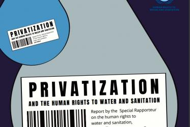 UN privatisation of water publication