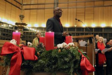 Advent service at the Ecumenical Centre 2019