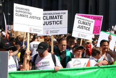 climate march, NYC 2019