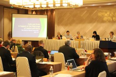 WCC Faith and Order Commission, China, June 2019, Photo: WCC