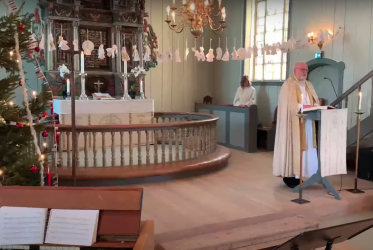 Bishop preaches in Church in Norway