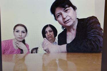 Women forced to flee their homes during the Nagorno-Karabakh conflict