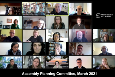WCC assembly planning committee meeting online