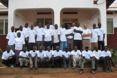 logistic team in Kitgum