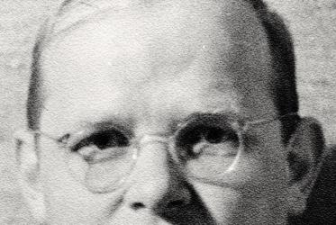 Dietrich Bonhoeffer eyes