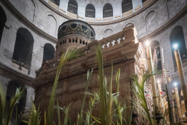 Tomb in the Church of the Holy Sepulchre, Jerusalem, 2019