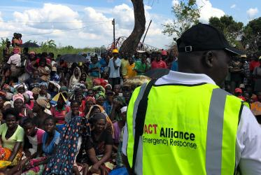 ACT member CEDES bringing relief supplies to villages in Nhamatanda District in Mozambique after the Cyclone Idai in 2019.