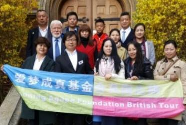 A group of Chinese Christian entrepreneurs attended Faith in Business Conference in Cambridge, UK, March 31, 2017