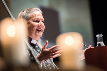 Bishop Mary Ann Swenson, vice moderator of the WCC Central Committee. Photo: Albin Hillert/WCC