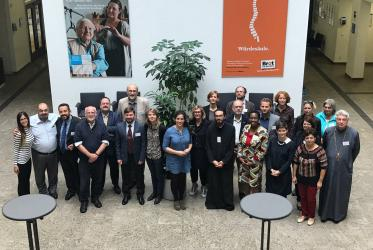 "Berlin conference on statelessness participants in ""Bread for the World"", ©WCC"
