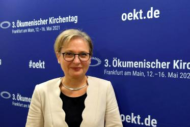 Bettina Limperg, Protestant President of the Ecumenical Kirchentag. Photo: ÖKT