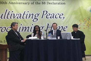 Cultivating Peace, Proclaiming Hope conference. Photo: Kim Minji/NCCK