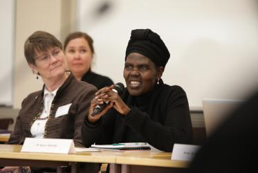 Dr Agnes Aboum, moderator of the WCC Central Committee, Photo: Aarne Ormio/WCC