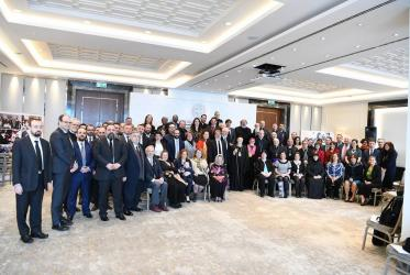 "Participants of the third ""Forum on Modern Slavery - Awareness, Action and Impact"", Istanbul, 5-8 January, 2019, Photo: Nikolaos Manginas/Ecumenical Patriarchate Press"