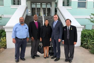 The WCC delegation visiting Bahamas, November 2018, Photo: WCC