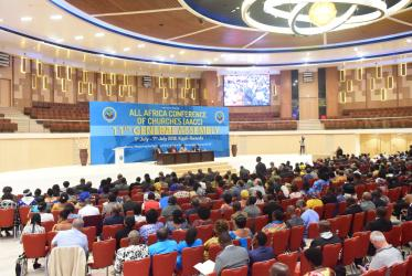 Plenary session at the AACC 11th General Assembly in Kigali, Rwanda. Photo: AACC-CETA Communications