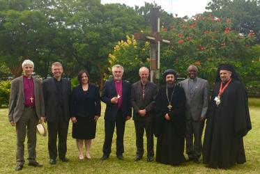 Ecumenical guests at the ACC 2016 meeting.
