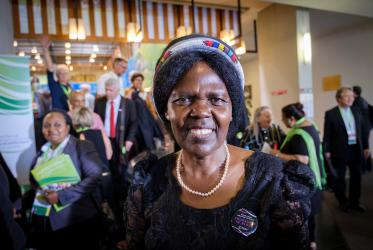Dr Agnes Abuom, moderator of the WCC Central Committee. Photo: Magnus Aronson/WCC
