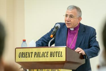 Bishop Emeritus Munib Younan. Photo: Albin Hillert/WCC