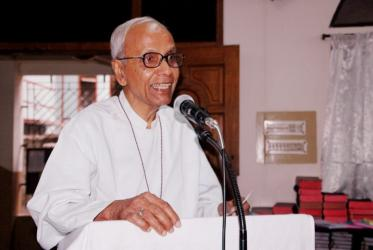 Barnabas D. Mondal, the first national bishop of the Church of Bangladesh. Photo: Christian Conference of Asia