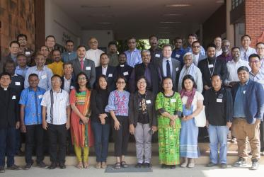 "Participants of the seminar ""Human Resources and Leadership Development for Diakonia and Development"" in Chiang Mai, Thailand. Photo: CCA"