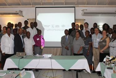 Participants in a WCC seminar on new directions for diakonia in Port-au-Prince, Haiti.