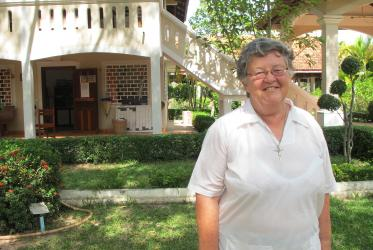 Sister Denise Coghlan, director of the Metta Karuna Reflection Centre in Siem Reap.