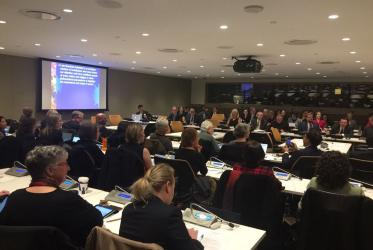 The symposium was held at the UN secretariat in New York. ©Rudelmar Bueno de Faria/WCC