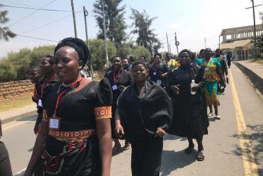 The 200-plus attendants were drawn from all provinces of the Moravian Church in Tanzania. Photo: WCC-EHAIA